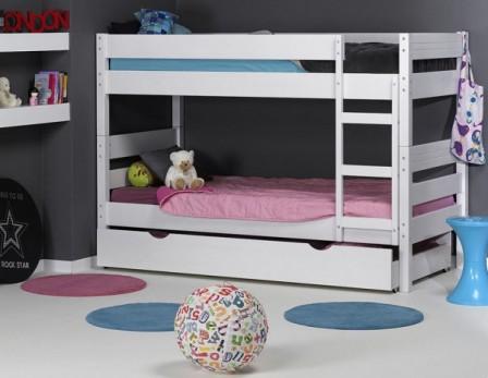 lit superposés dans la chambre de vos enfants